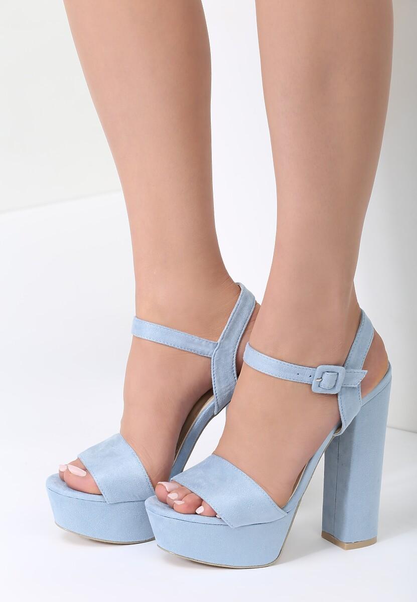 Niebieskie Sandały Like You Do