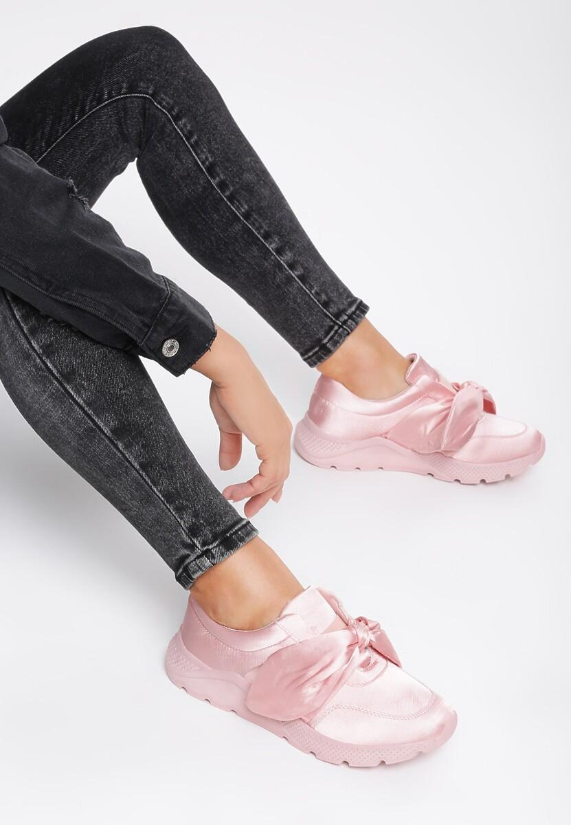 Różowe Buty Sportowe Suprising Winky