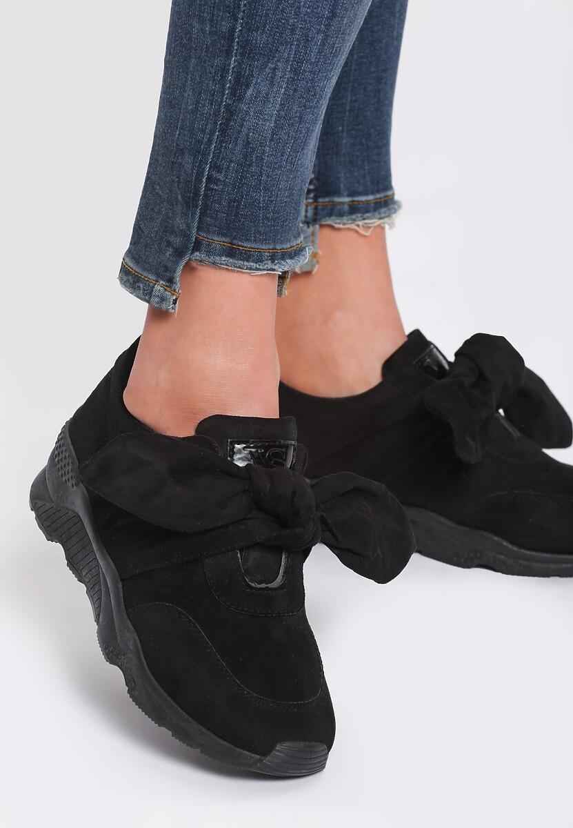 Czarne Buty Sportowe Faithful Idea
