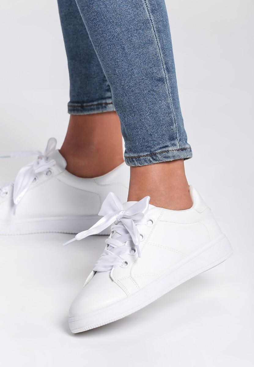 Białe Buty Sportowe Fair Back