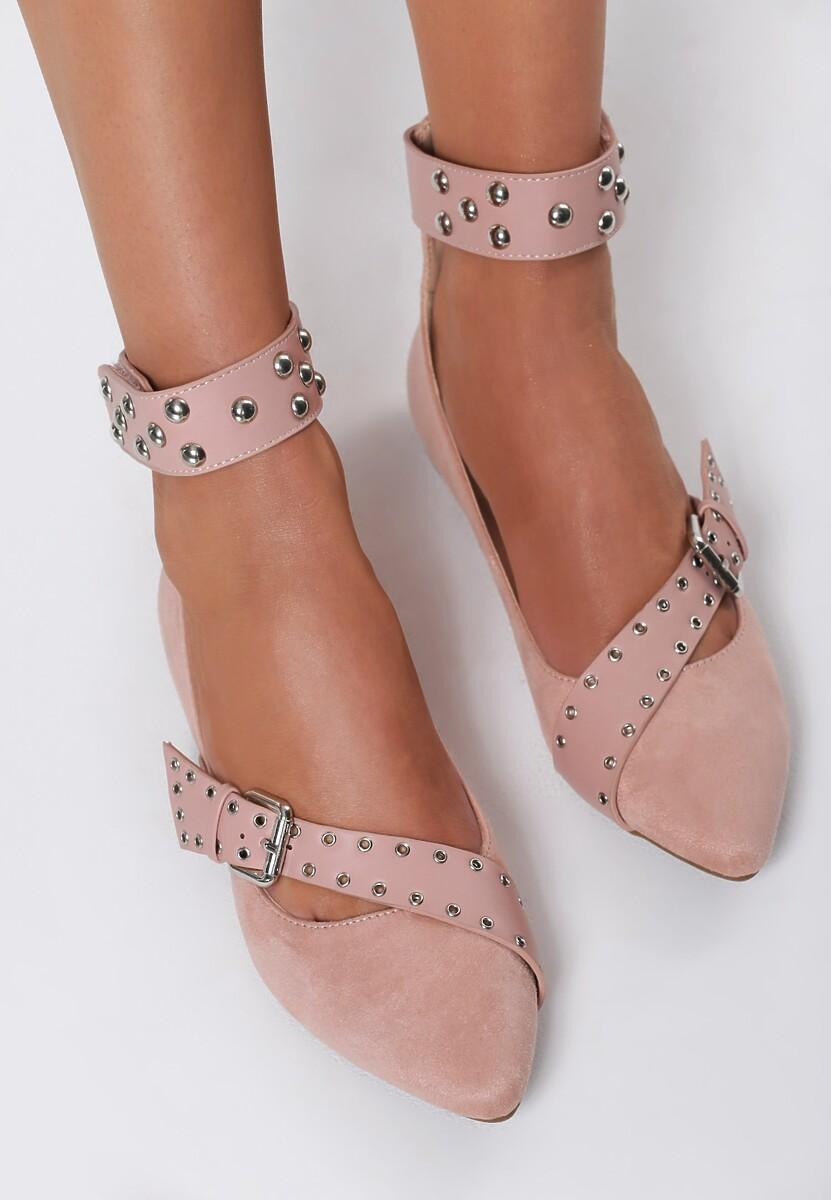 Różowe Balerinki Elegant Pleasure