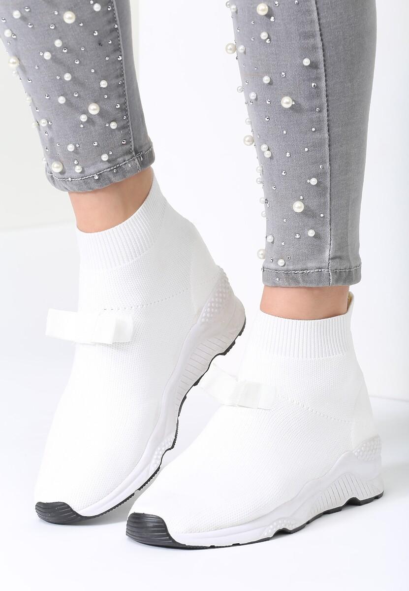 Białe Buty Sportowe Adorable Bobby