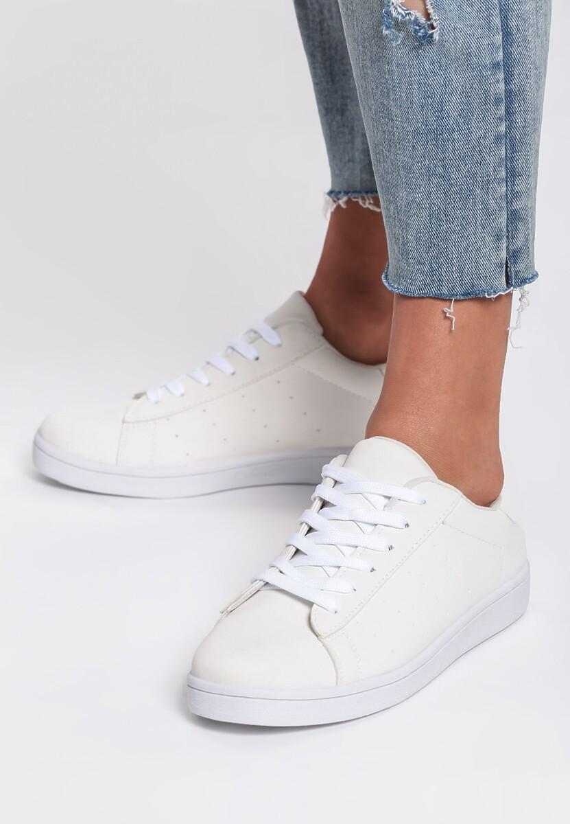 Białe Buty Sportowe Staggering Thing