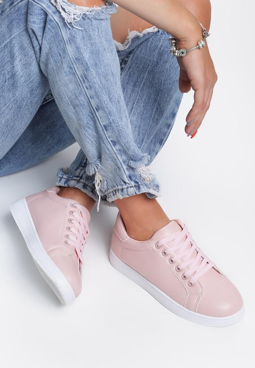 Różowe Buty Sportowe Cover Me