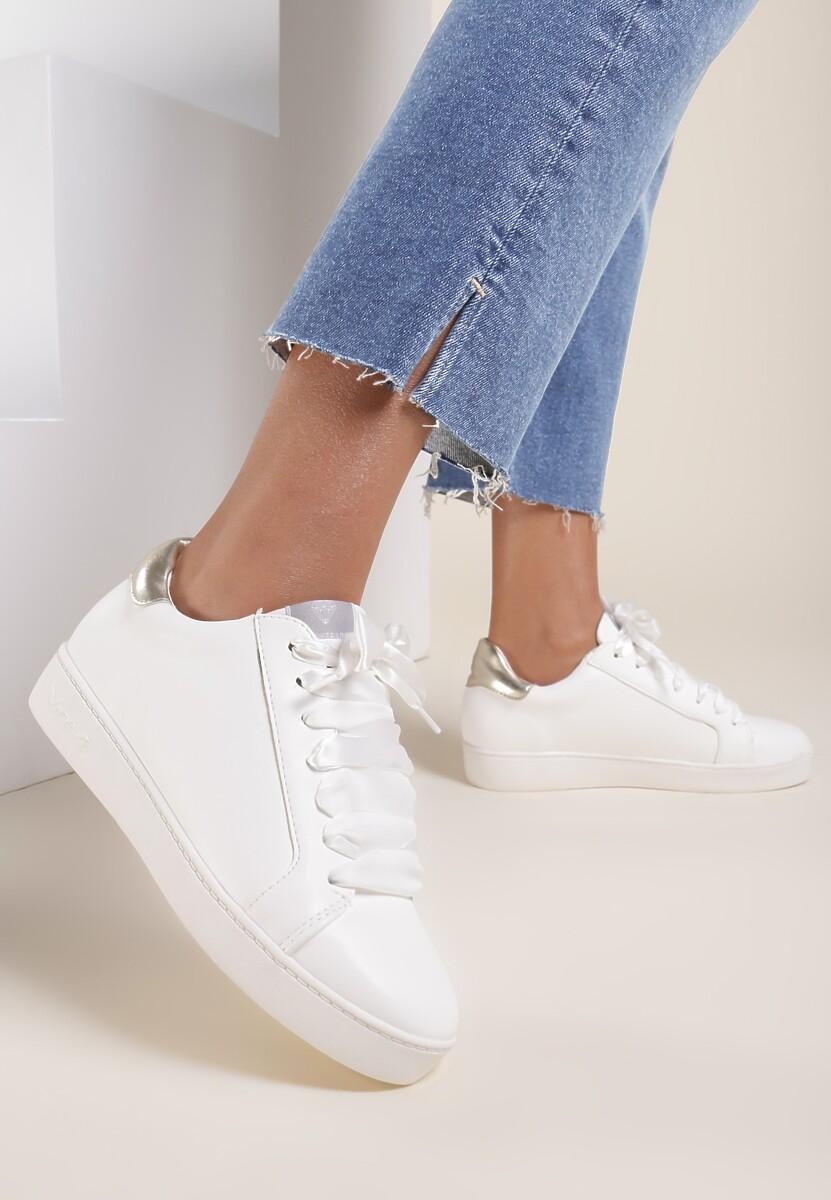 Biało-Złote Buty Sportowe Plaything