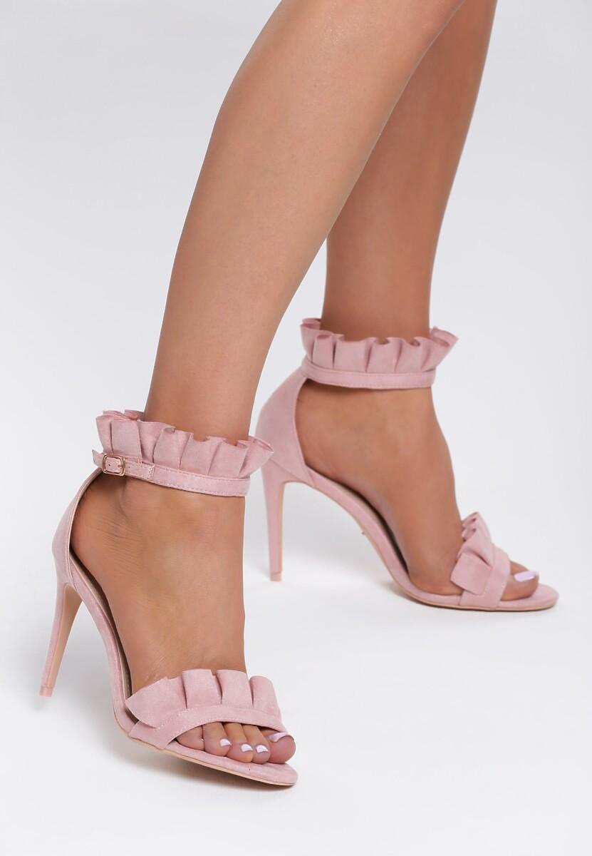 Różowe Sandały Grace Of Heaven
