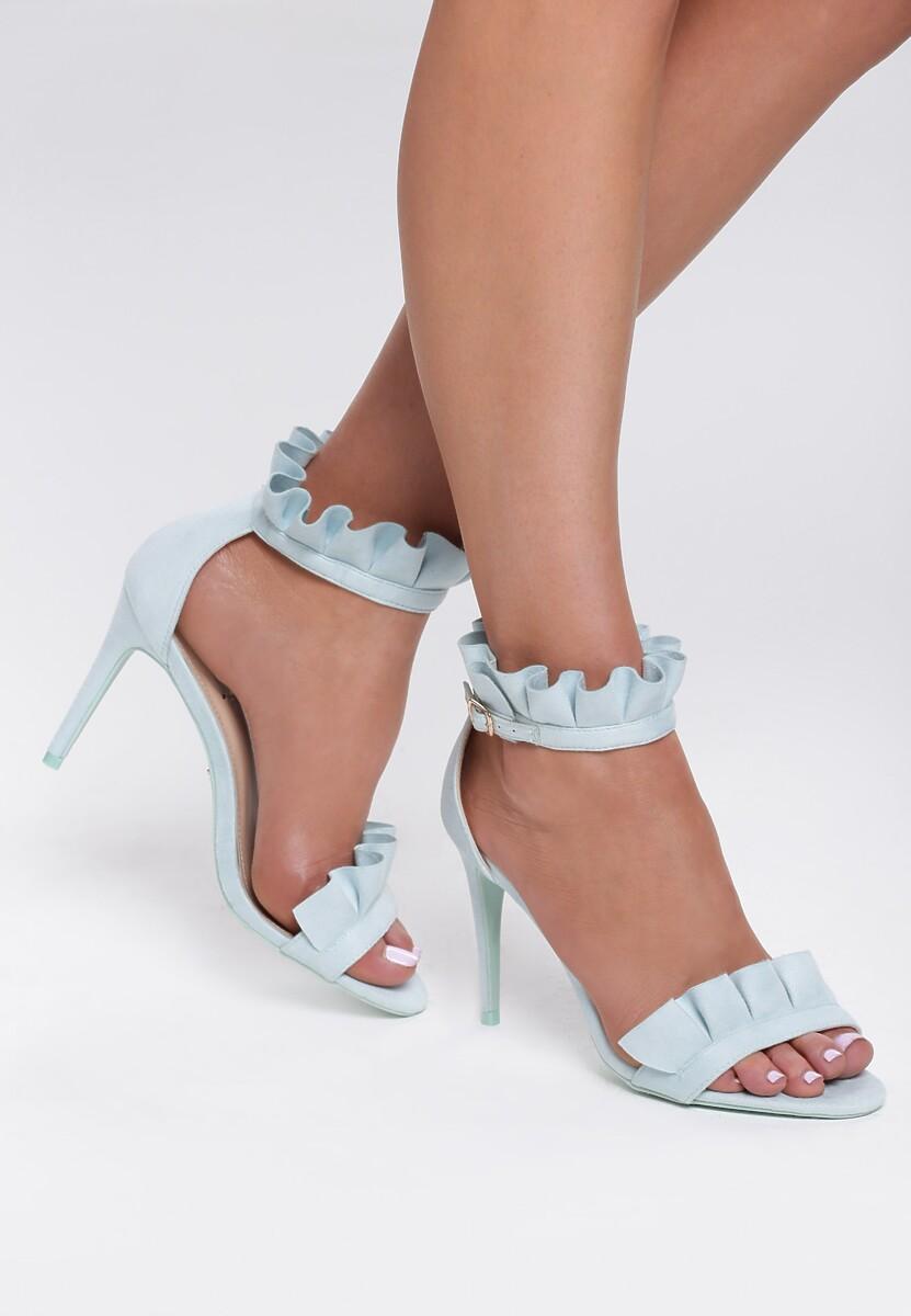 Niebieskie Sandały Grace Of Heaven