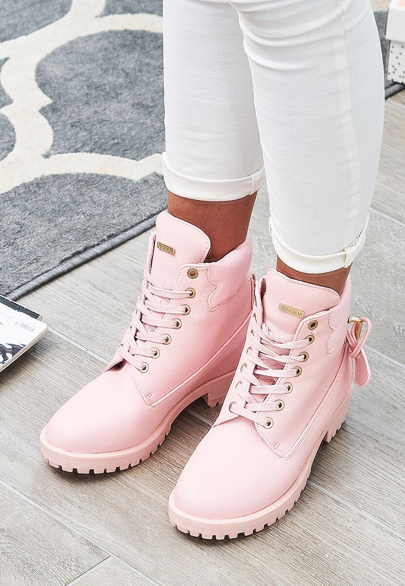 Różowe Traperki Pinky Love