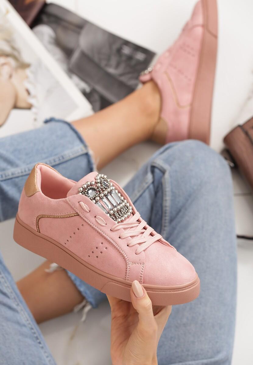 Różowy Buty Sportowe Unique Rebell