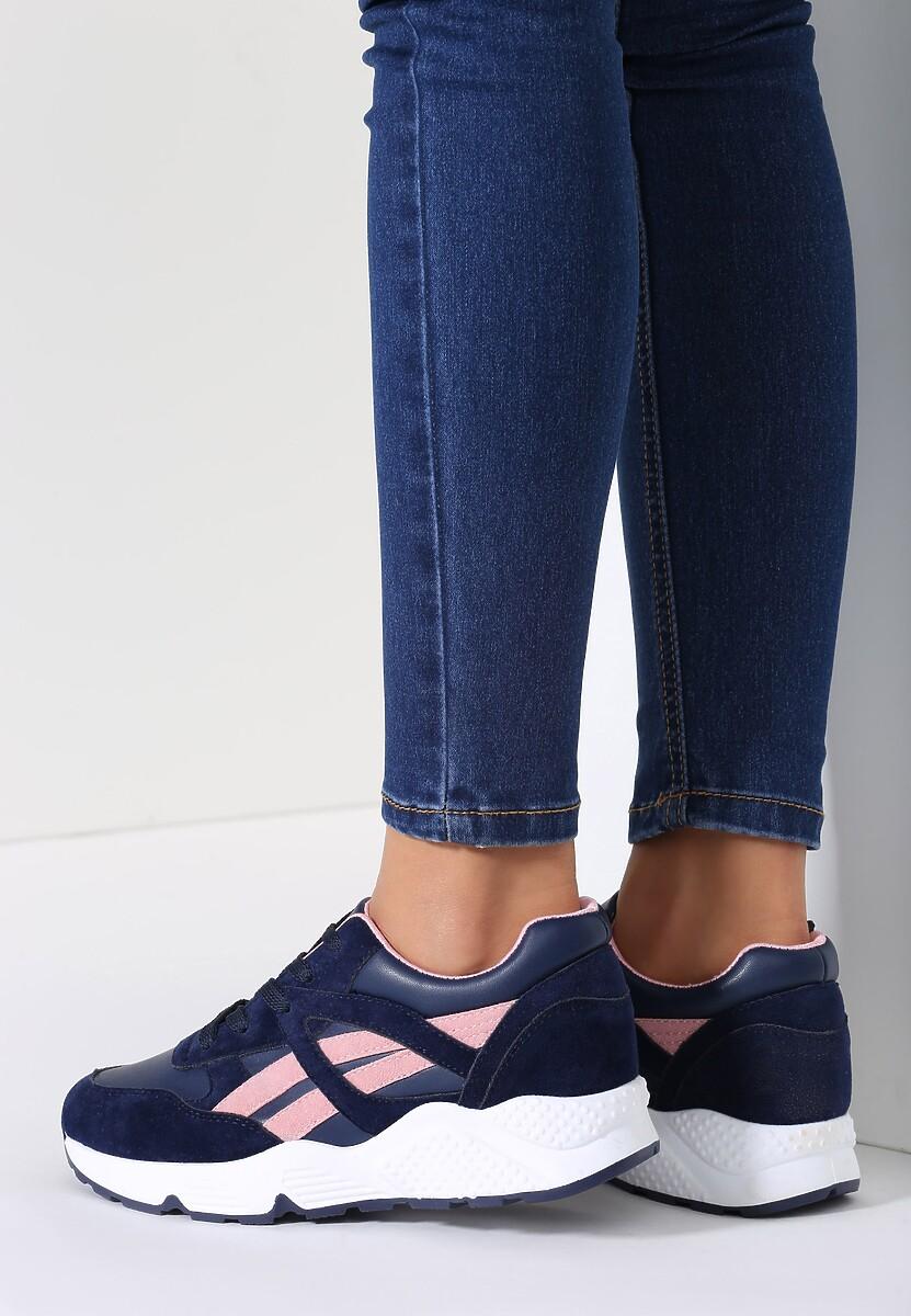 Granatowe Buty Sportowe Mini Firmament