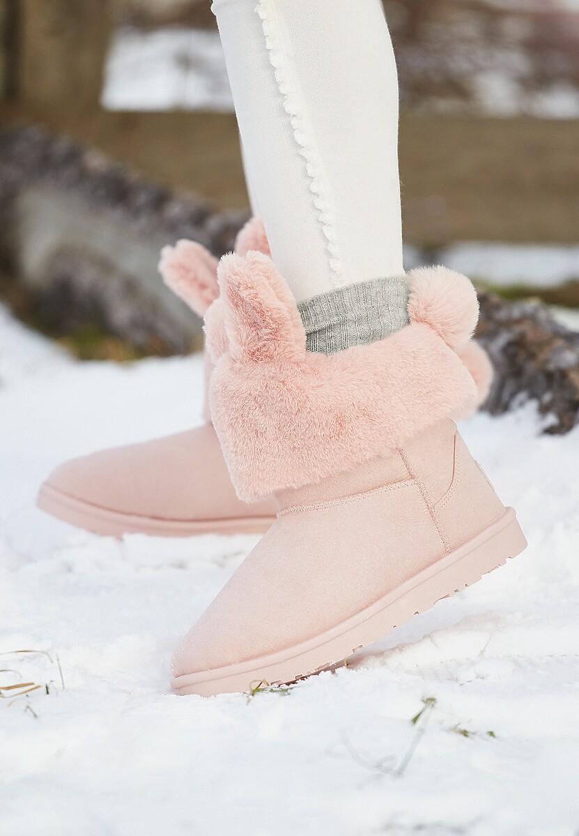 Różowe Śniegowce Satsfaction