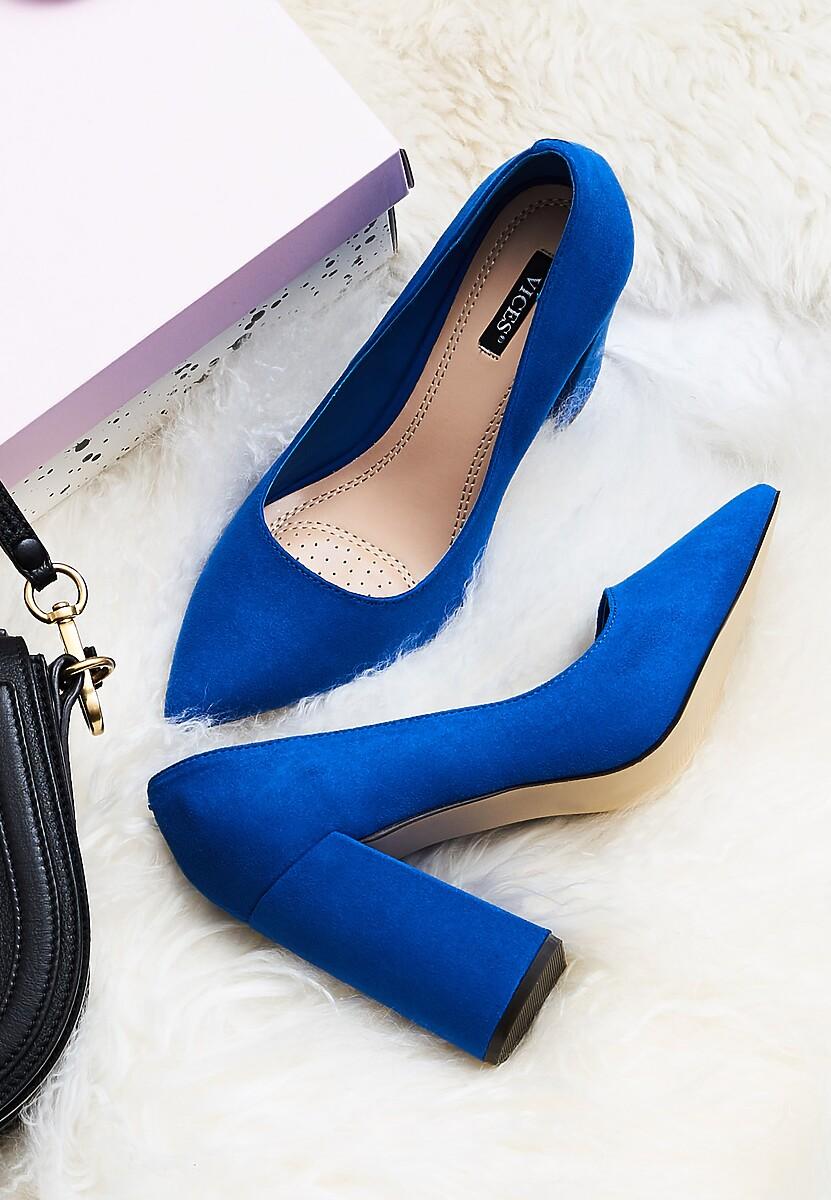 Niebieskie Czółenka Tell Me