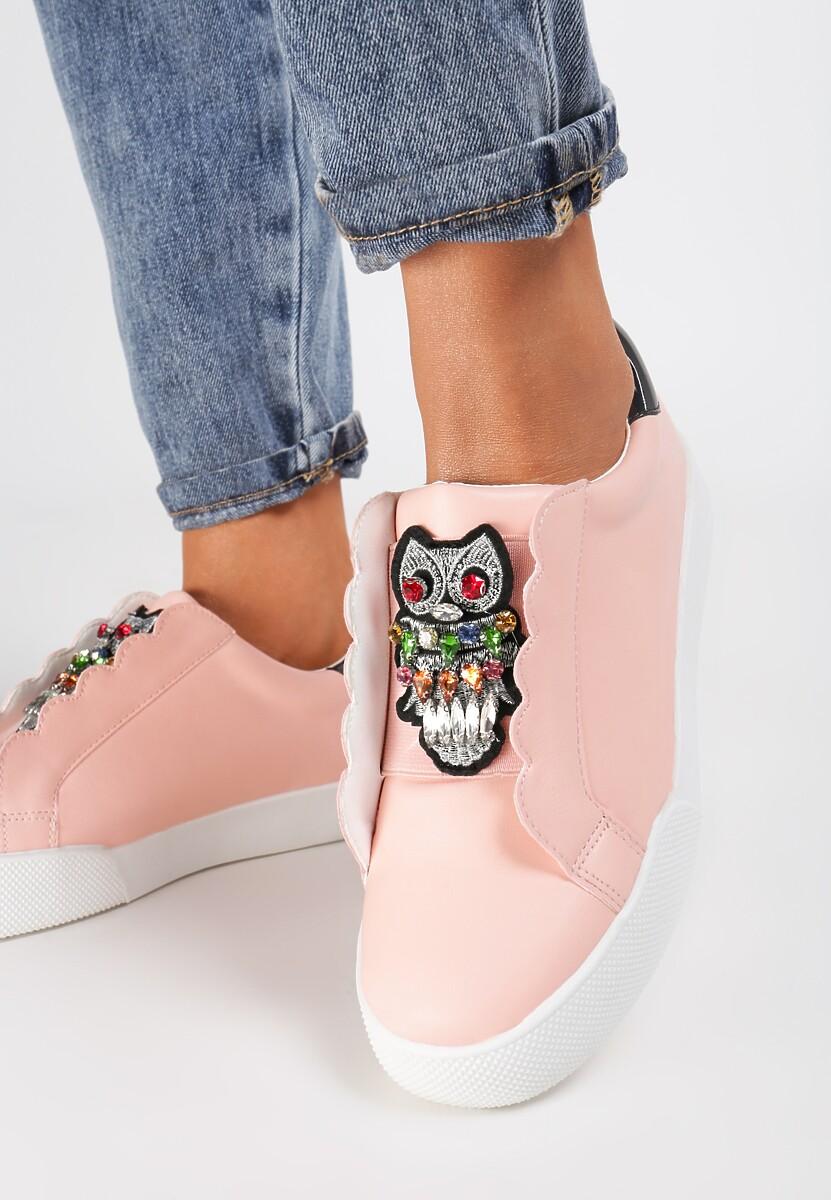 Różowe Sneakersy Place In Paradise