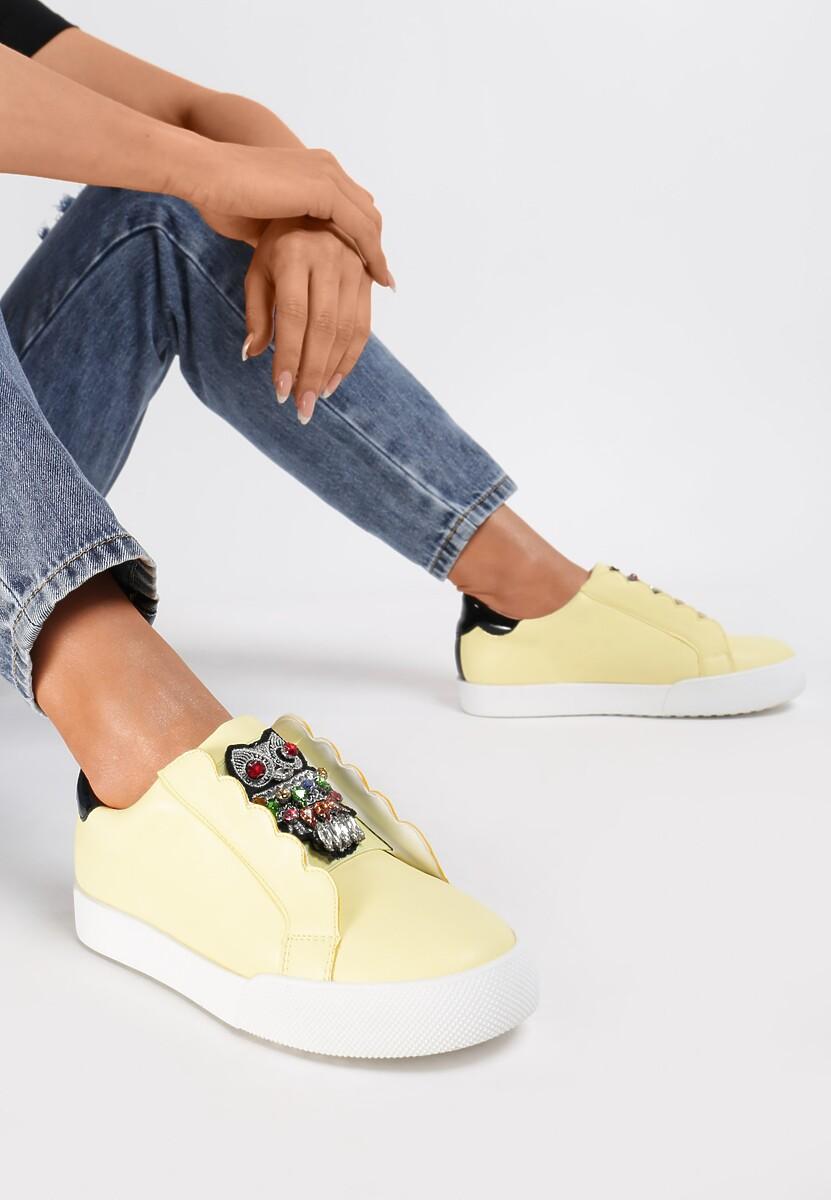 Żółte Sneakersy Place In Paradise