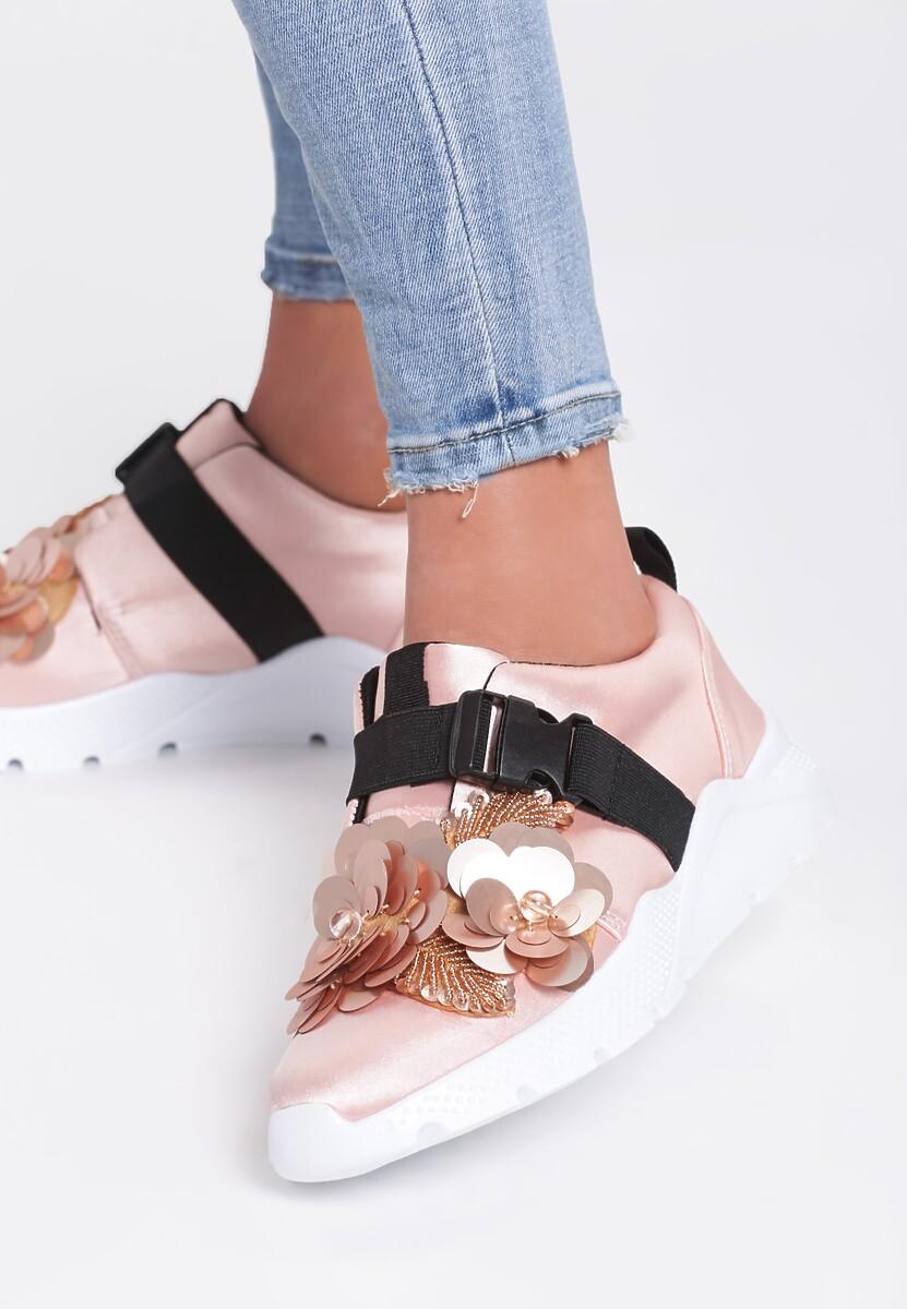 Różowe Buty Sportowe Moonshimer