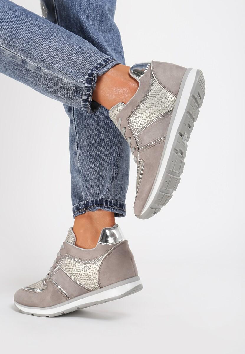 Szare Sneakersy Come Of Age