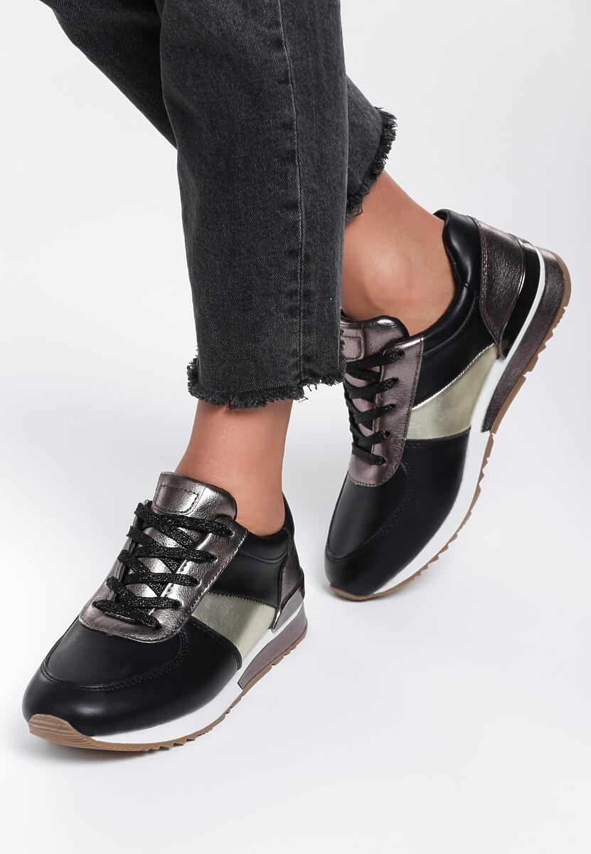 Czarne Sneakersy Not To Late
