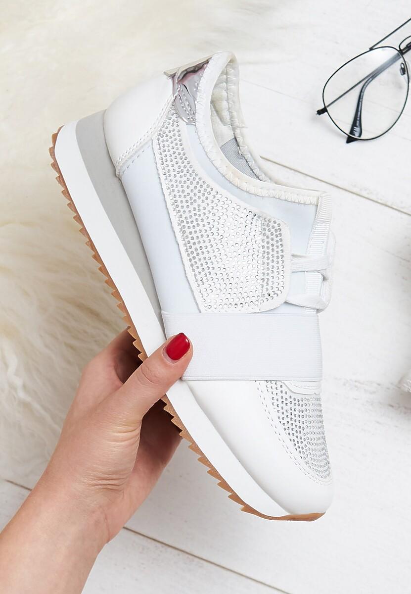 Białe Buty Sportowe I'll Rise