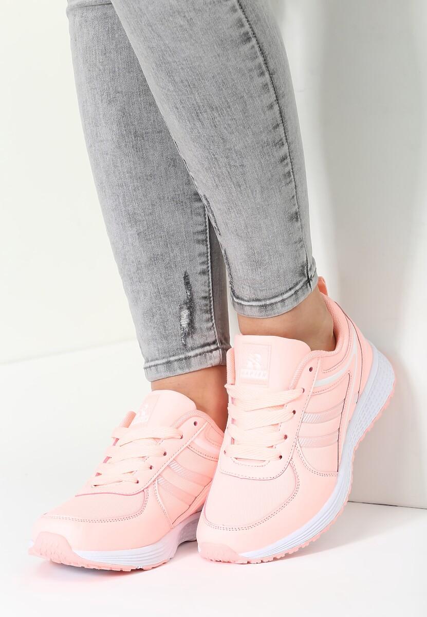 Różowe Buty Sportowe Love Me Tender