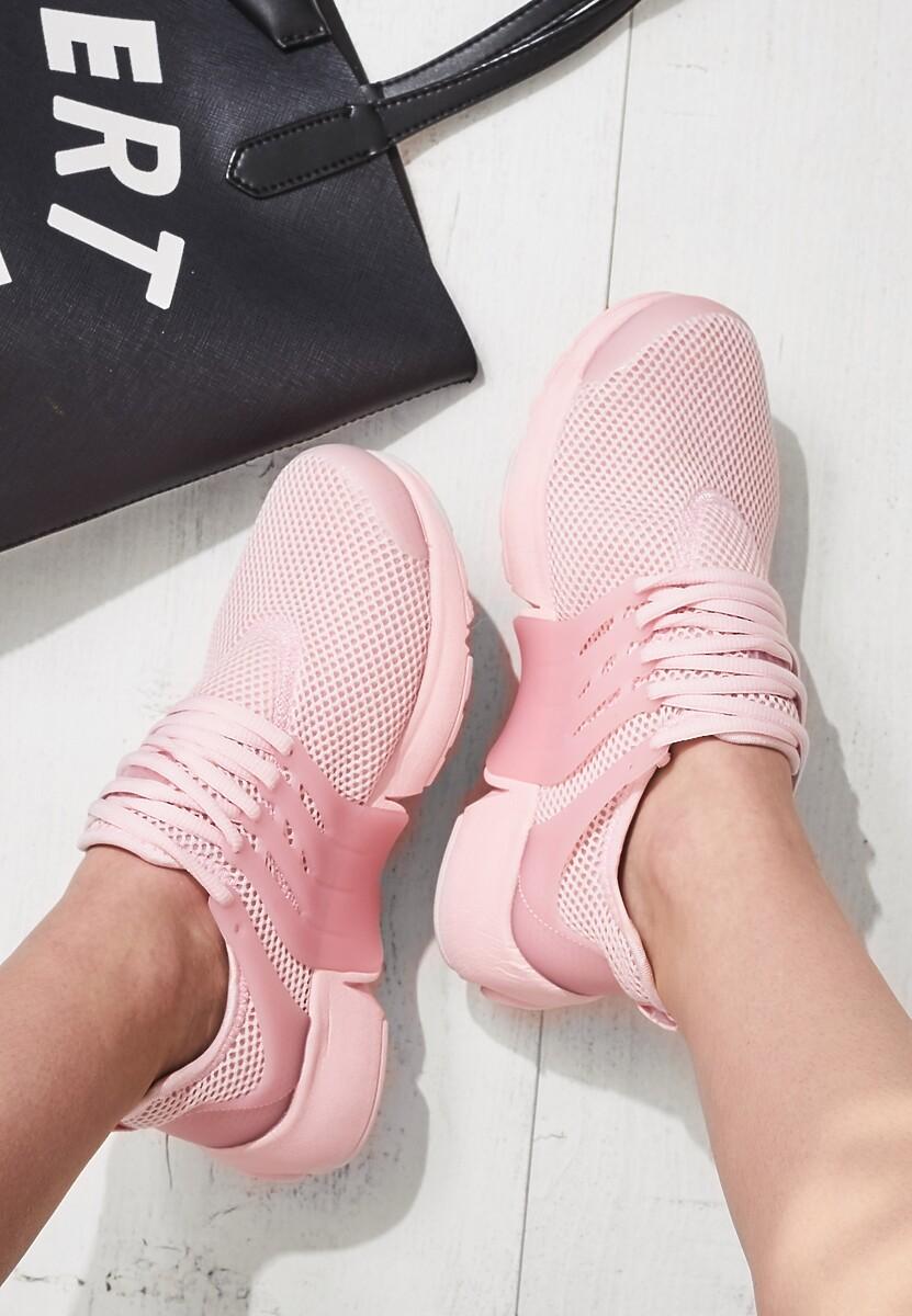 Różowe Buty Sportowe Wafture