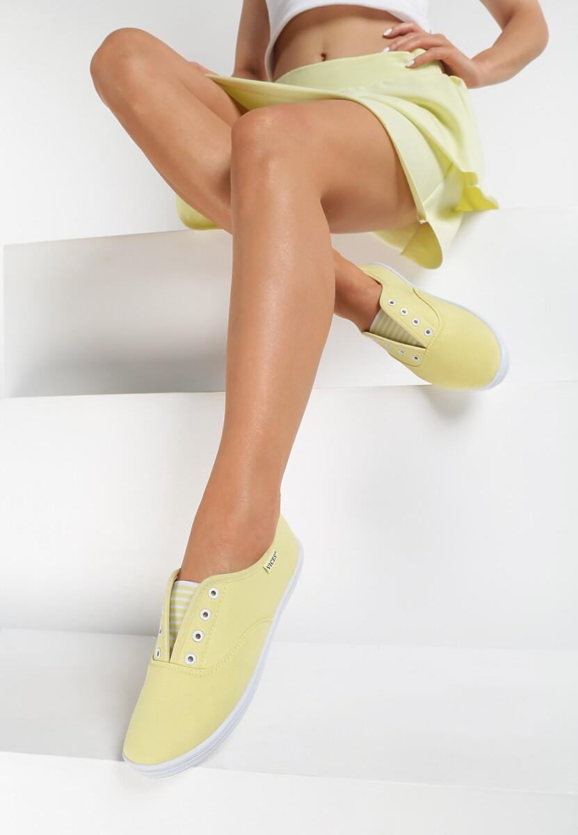 Żółte Tenisówki Steamy Windows