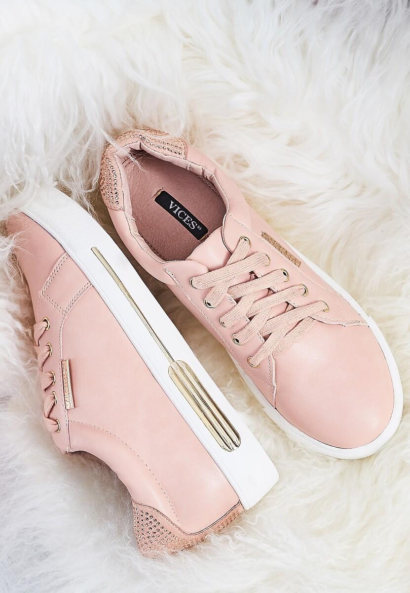 Różowe Buty Sportowe Trip On Me