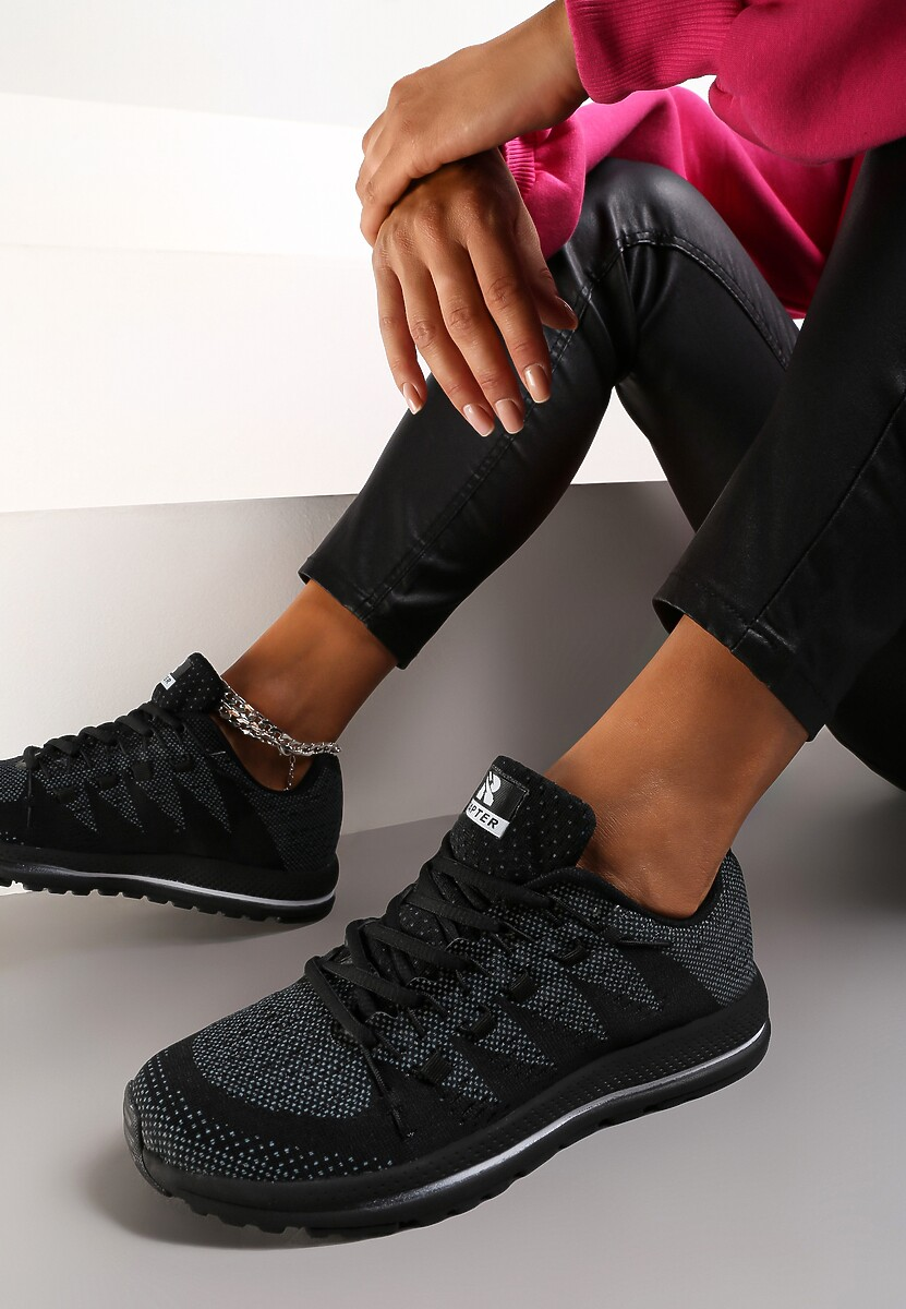 Czarne Buty Sportowe Everywhere