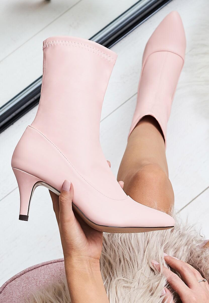 Różowe Botki Way You Want Me
