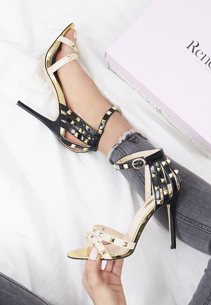Beżowe Sandały Exemplary
