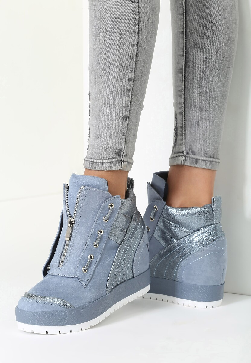 Niebieskie Sneakersy It's Me