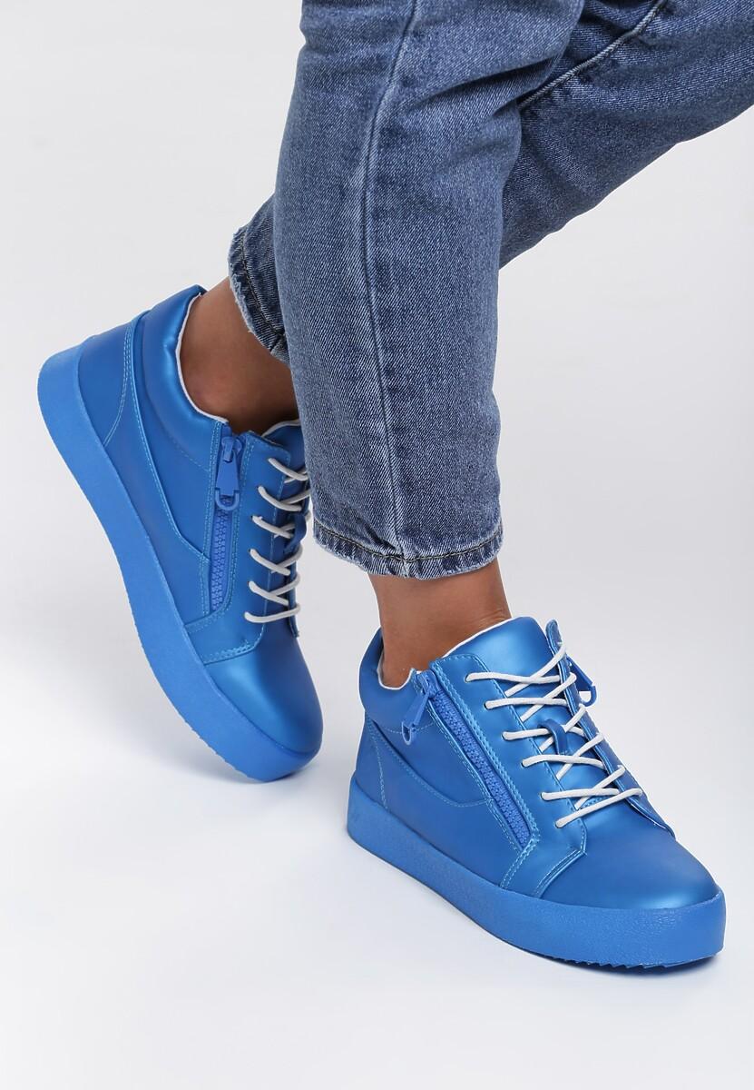 Niebieskie Sneakersy Let It Go