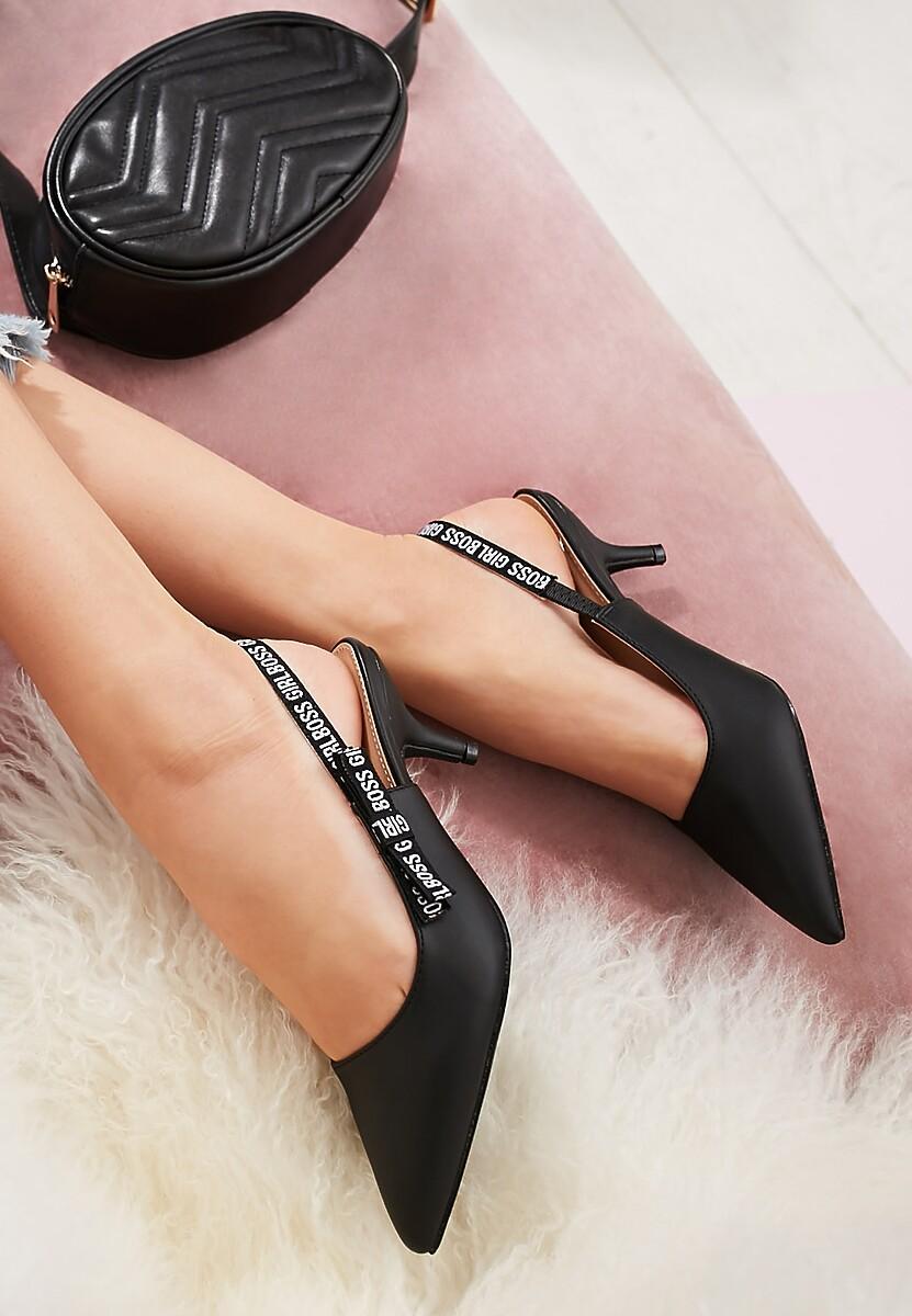 Czarne Sandały Electric Feel
