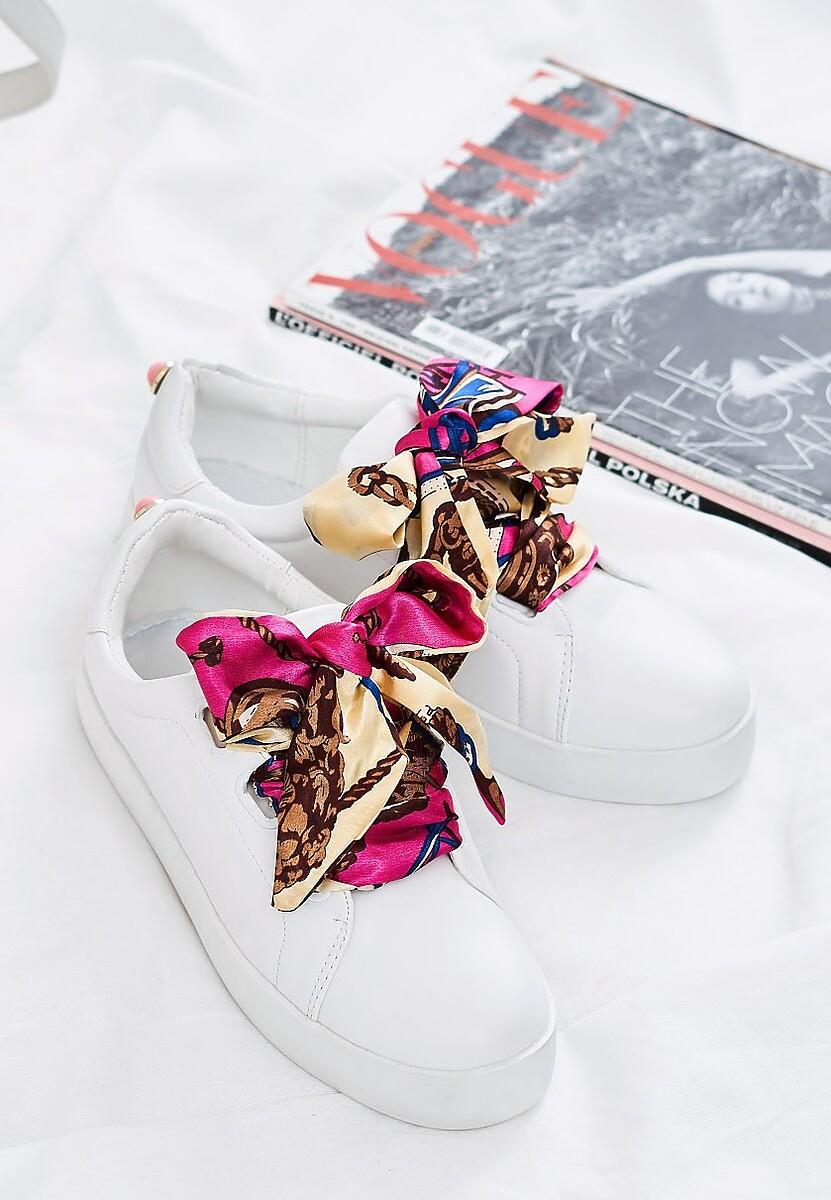 Białe Buty Sportowe La Bomba