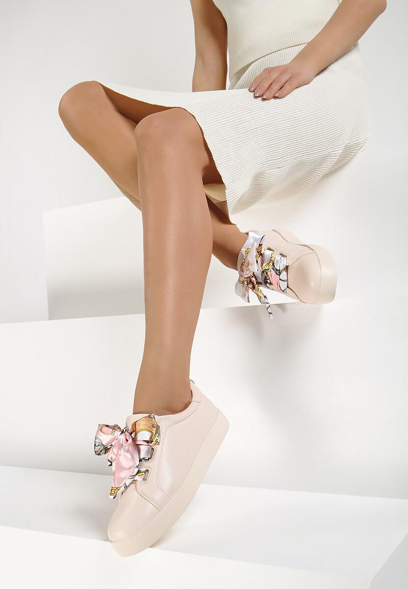 Różowe Sneakersy La Bomba
