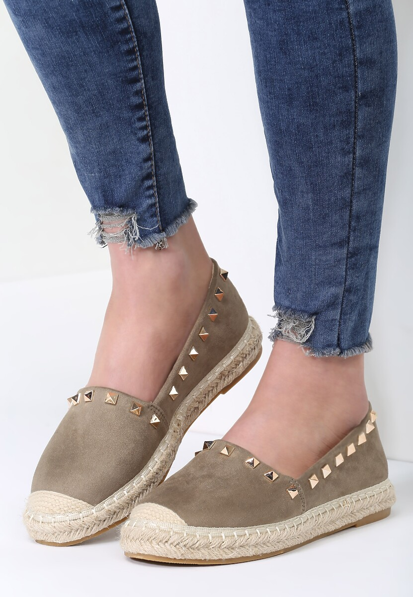 Zielone Espadryle We're in Love