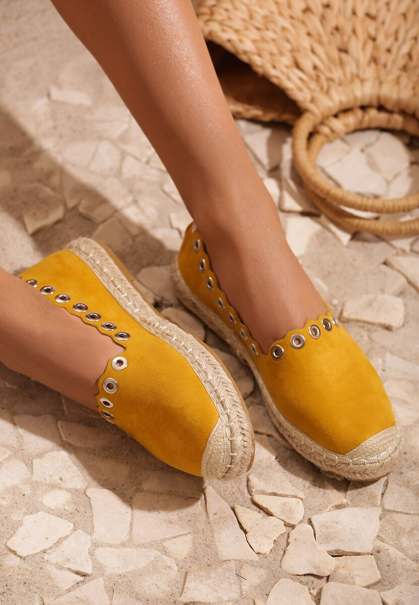 Żółte Espadryle This Is Love
