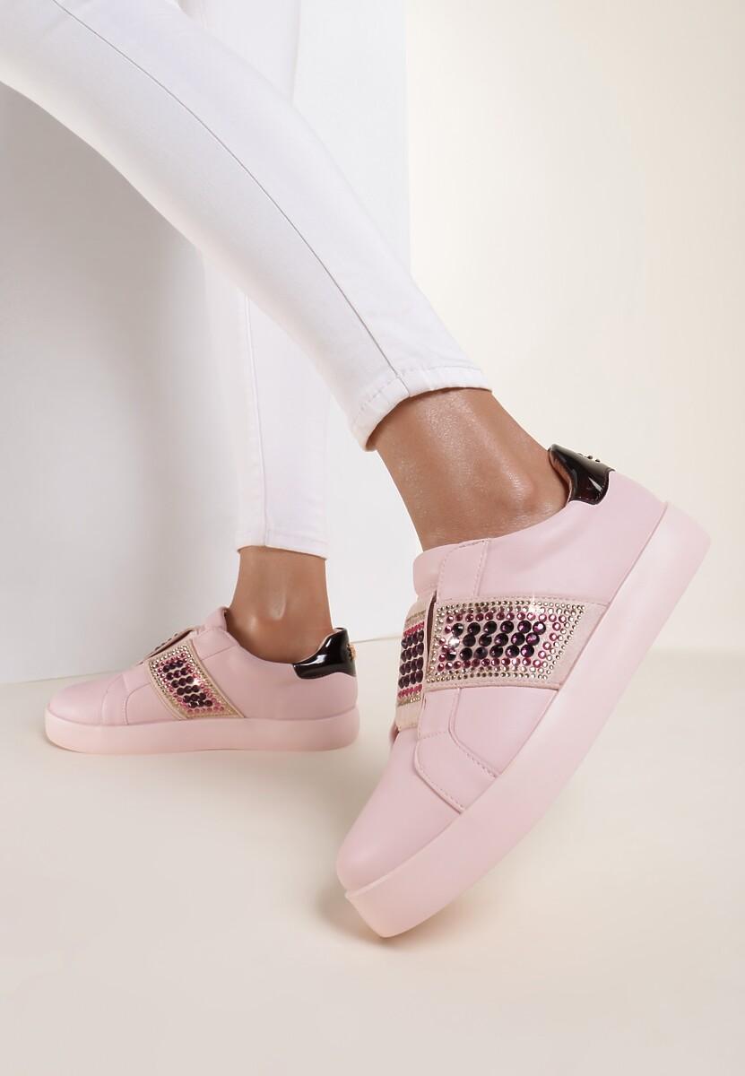 Różowe Buty Sportowe Move Around