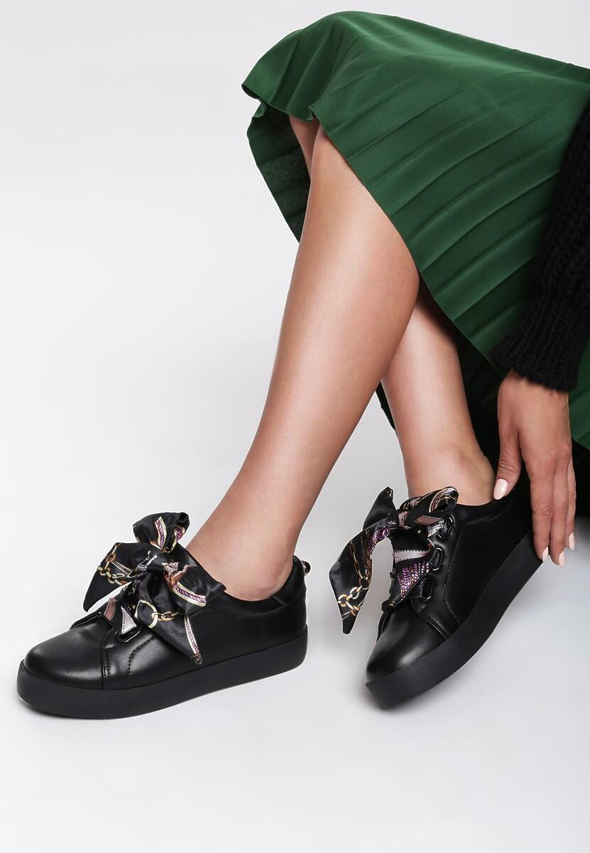 Czarne Sneakersy La Bomba