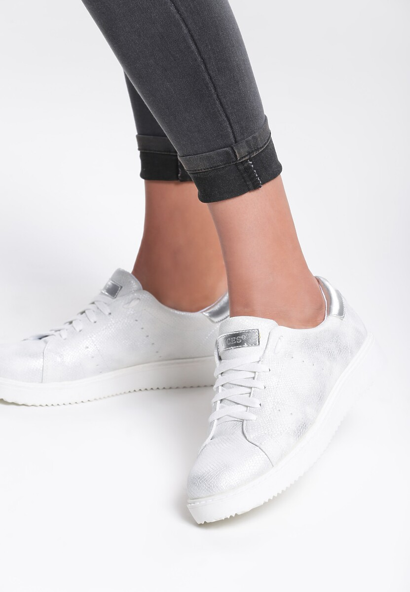 Białe Buty Sportowe Get In
