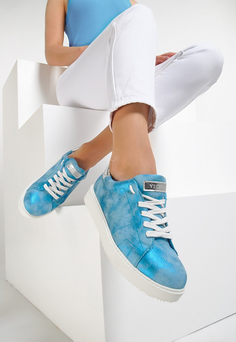 Niebieskie Buty Sportowe Get In