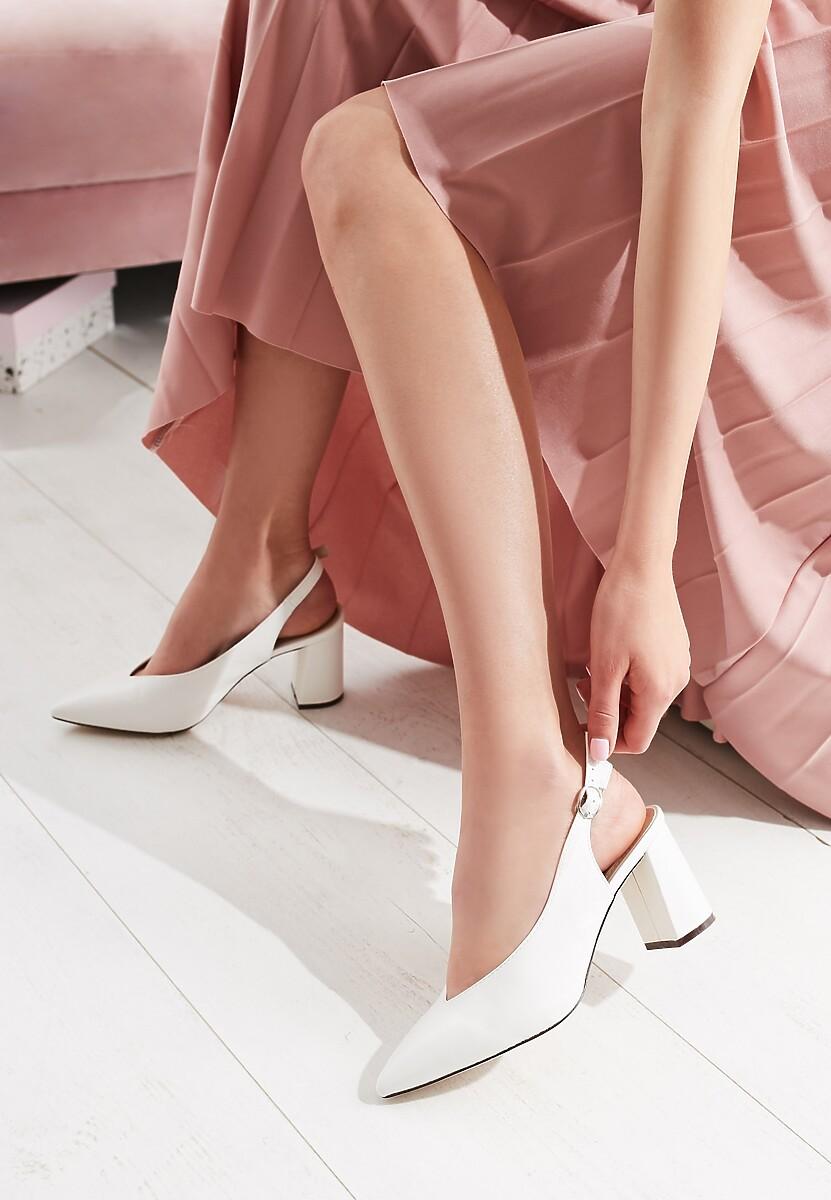 Białe Sandały Te Amo
