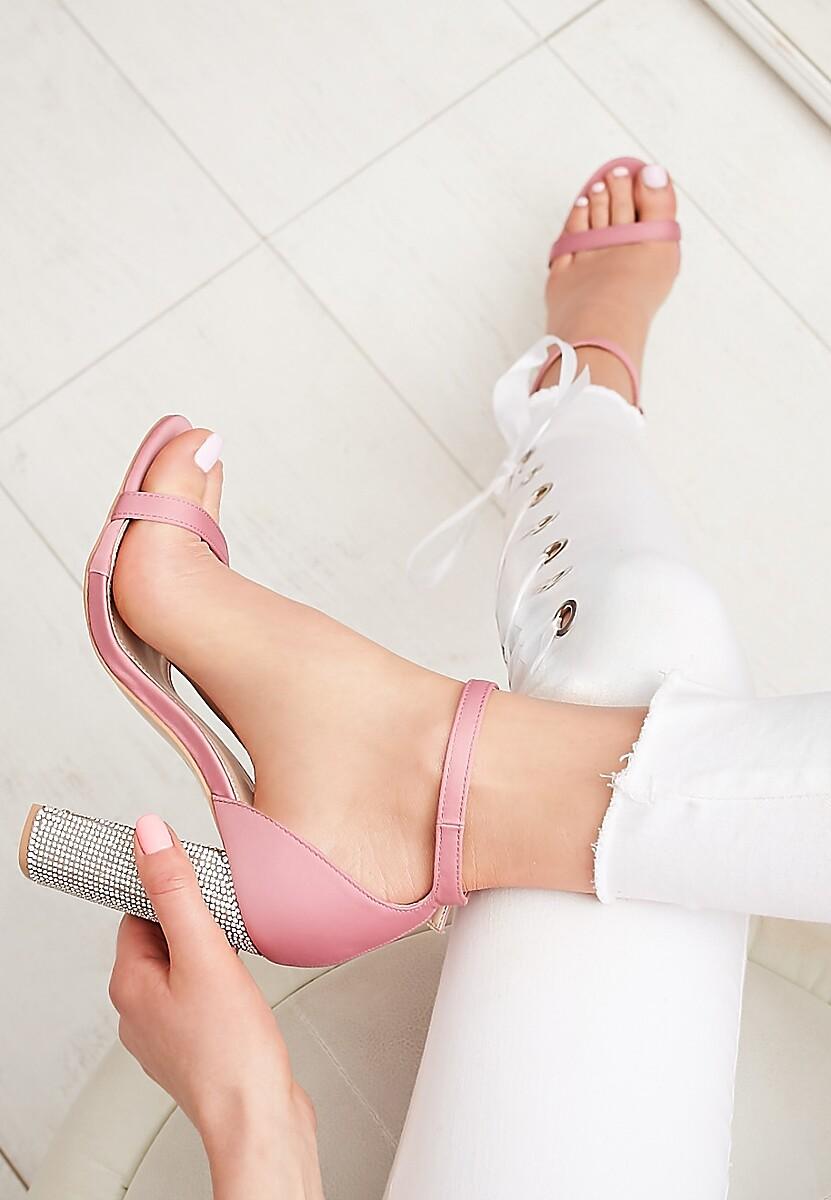Różowe Sandały Great Fall