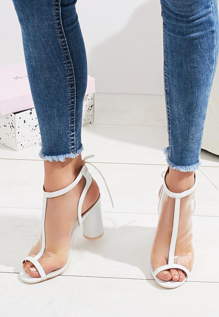 Białe Sandały Be Loud