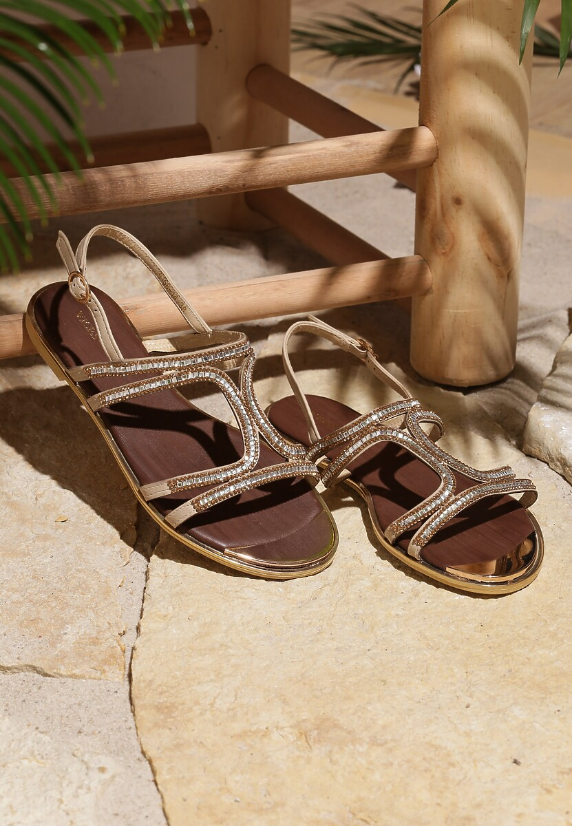 Beżowe Sandały Mallow