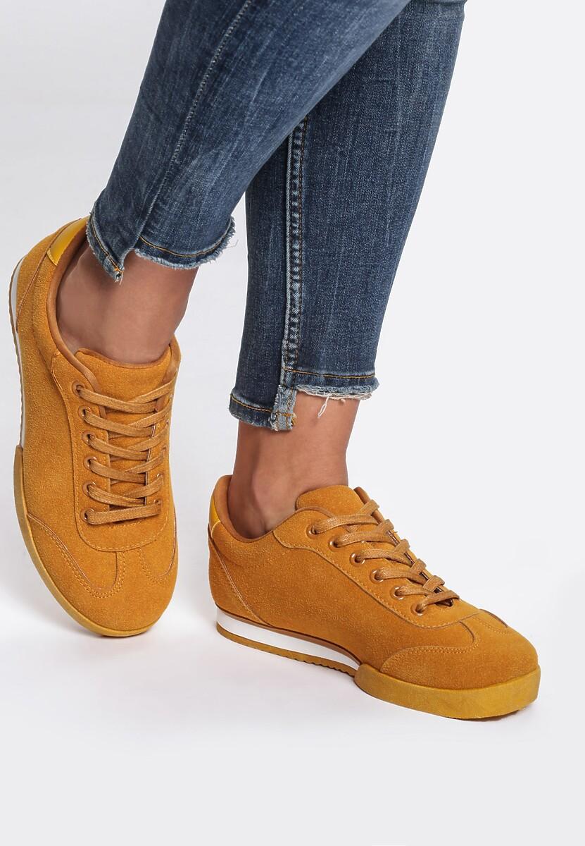Żółte Buty Sportowe Spanish Piece