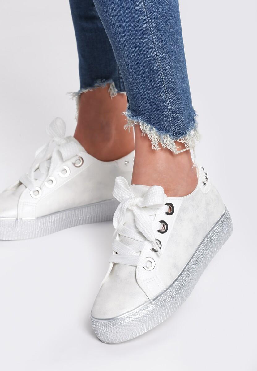 Białe Buty Sportowe All Day Lover