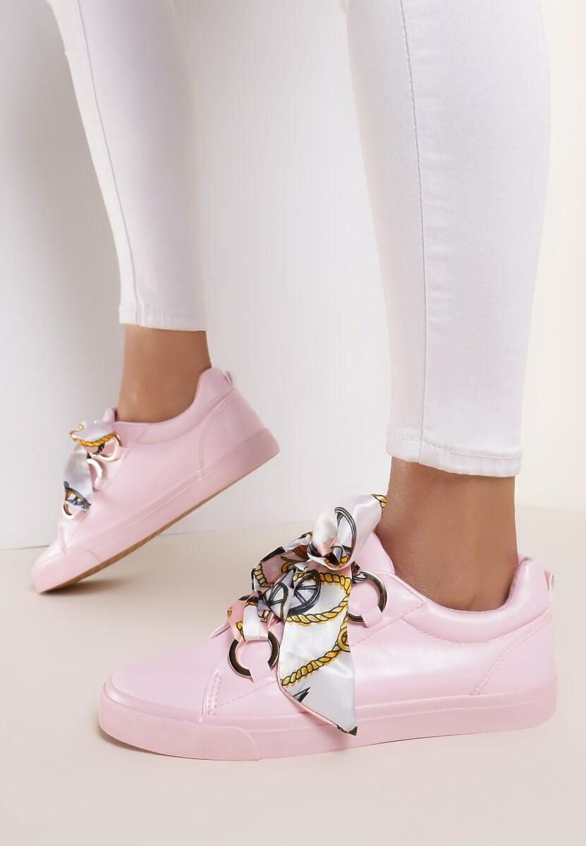 Różowe Sneakersy Dangerous Night