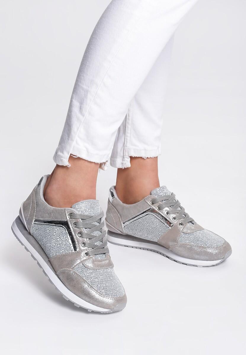 Szare Sneakersy Take A Chance
