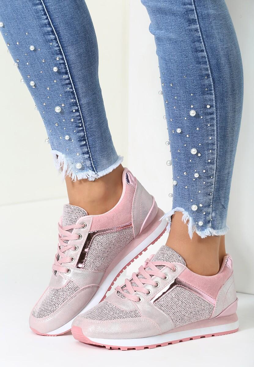 Różowe Buty Sportowe Take a Look