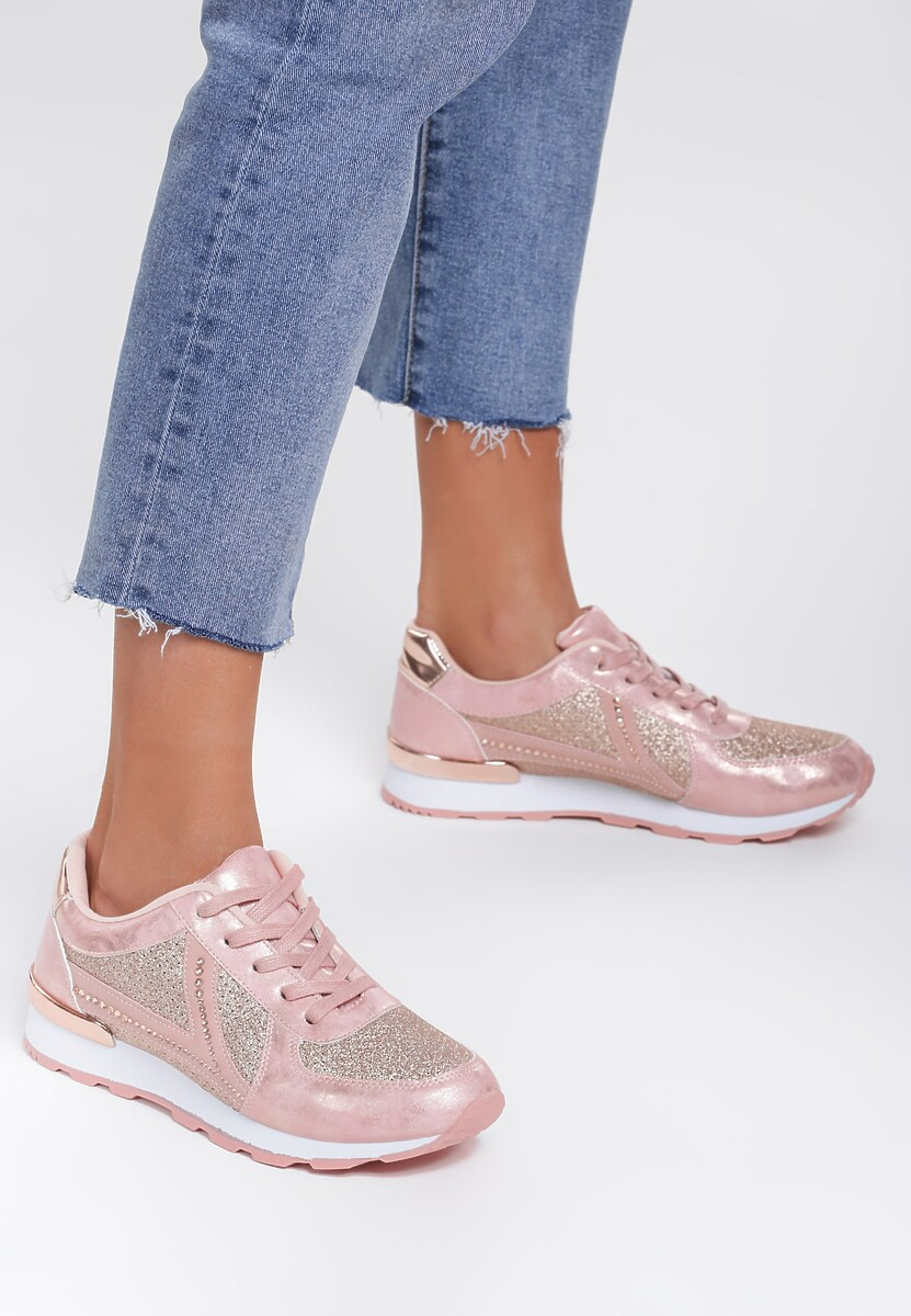 Różowe Sneakersy Wake Up Call